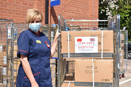 Meishan PPE donation to Warwick Hospital